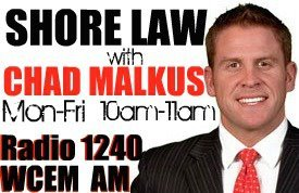 """ShoreLaw with Chad Malkus - Radio 1240 WCEM"" on The Great Dads Project with Keith Zafren"