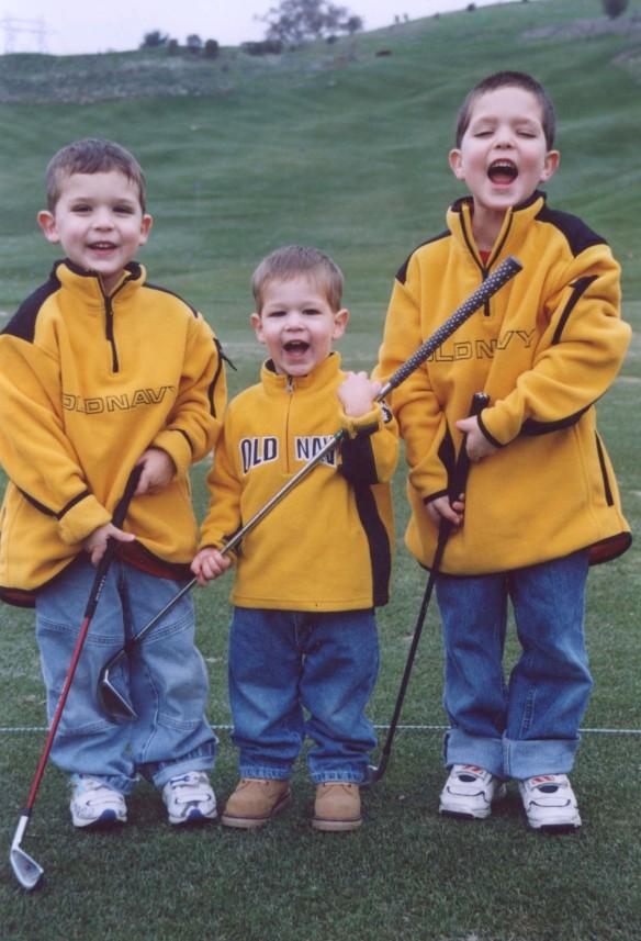 3 boys Golf 3.03